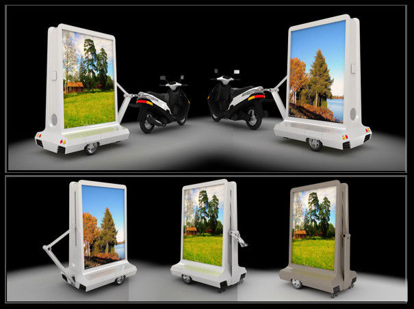 HUAWEI 5G Wireless P5 Outdoor Mobile Truck Car Taxi LED Display IP65 Waterproof , Motorcycle OLED Moving Message Display